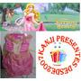 Vestido Infantil Bela Adormecida Cosplay Disney Fantasia
