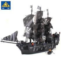 Blocos De Montar Similar Lego Navio Perola Negra Piratas Cab