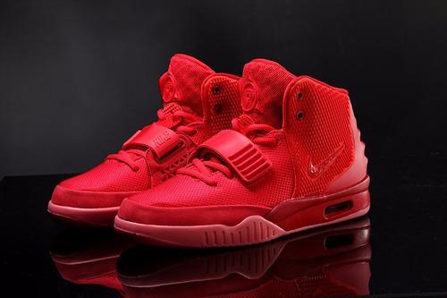 Zapatillas Nike Air Yeezy 2 Rojo Air Max 90 - $ 85.000 en Mercado Libre