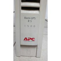 Nobreak Apc Backups 1500va - 1.5kva - 127v