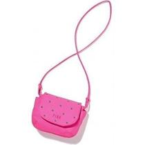 Bolso Lienzo Secret Pink Bling Tachonado Rosa Crossbody Del