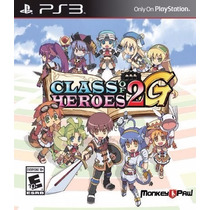 Class Of Heroes 2g Ps3 Digital - Express Game