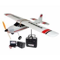 Robinho Aeromodelo / Cessna Tw747-1 Rtf Pronto Para Voar