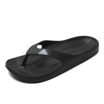 Ojotas Sleeper Adidas Duramo Thong Negro