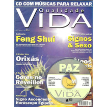 Cd Com Músicas Para Relaxar + Revista Qualidade Vida N° 3