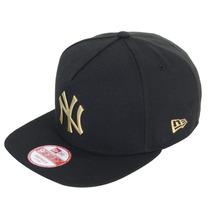 Boné Masculino New Era 950 Metal Gold Ny Yankees