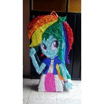 Piñata Rainbow Dash De My Little Pony Equestria Girl.