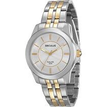 Relógio Feminino Seculos Social 28680lpsvba2 Original Loja