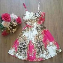 Vestido Boneca Princesa Estampa Coração Balada Preço Atacado