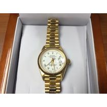 Oferta Solo Por Hoy !!! Rolex De Mujer De Oro 18kts