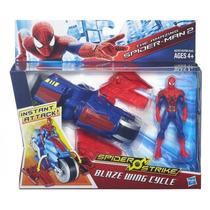 Hasbro A5706- The Amazing Spider-man Vehículo Spider Strike