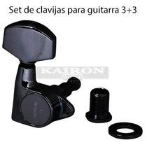 Clavijas Gotoh G1002bk 3+3 Para Guitarra Electrica Acustic