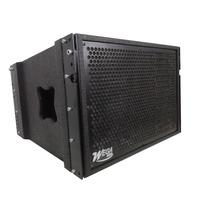 Caixa Acústica Line Array W112l Wega Audio Gabinete Vazio