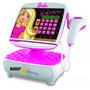 Caja Registradora Barbie Cash Boutique Maniquie Scanner Sipi