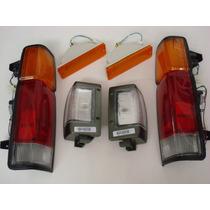 Lanterna Dianteira Traseira Nissan D21 93/07 Kit 6 Pçs