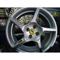 Roda 17 Ferrari Prata E Grafit Valor De 2 Rodas Frete Gratis