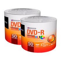 100 Dvd -r Sony 16x 4.7 Imprimibles 100% Originales Garantiz