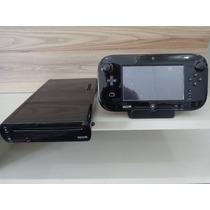 Nintendo Wii U Completo C/ Caixa Aceito Troca