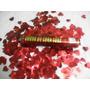 Lança Confetes Coração Vermelho 30 Cm.caixa Com 6 Tubos