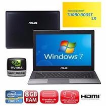 Notebook Gamer Asus I7 K45v 8gb 2.3ghz Gforce Gt630m 2gb