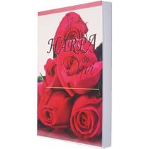 Harpa Cristã Popular Capa Com Flores