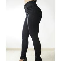 Combo 2 Jeans Tiro Alto Con Faja Levanta Cola Del 36 Al 50