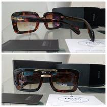 Óculos Prada Raw Preto/tartaruga Frete Grátis