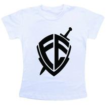 Camiseta Baby Look Feminina - Fé Andre Valadão