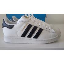 Tênis Adidas Superstar Feminino E Masculino Original Oferta