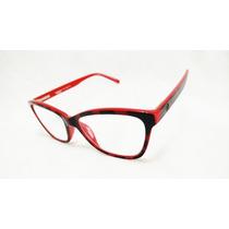 Armacao Oculos Feminino Moda Gatinho Fashion Retro Top Haste