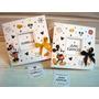 Tarjeta De Invitacion O Recuerdo Mickey Y Minnie Vintage