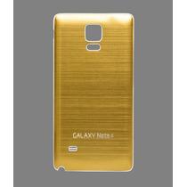 Cubierta Aluminio Tapa Trasera Bateria Samsung Galaxy Note 4
