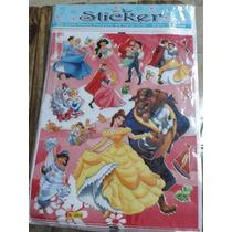1 Lote De 50 Planchas Stickers Grandes X Mayor Disney Y Mas