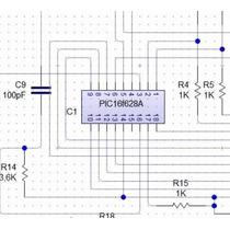Diagrama Esquemático Tarjeta Codiplug Cm Lite, Motor 4 Cable