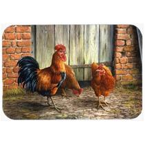 Gallo Y Pollos Por Daphne Baxter Cristal Tabla De Cortar Gra