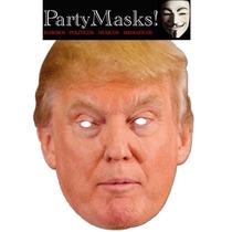 Careta Donald Trump Presidente Eeuu Cotillon Disfraz Fiesta