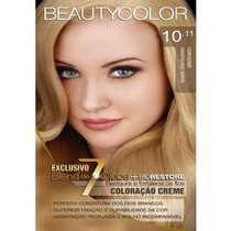 Tintura Beauty Color Kit 10.11 Louro Claríssimo Platinado