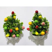 Quadro / Arranjos Mini Frutas Artificiais Parede Cozinha