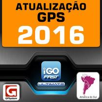 Atualização Gps 2016 Igo Primo Ultimate América Do Sul