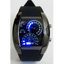 Reloj Led Tacómetro Velocímetro + Envío Gratis