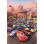 Cuadro Madera Mdf Pelicula Cars Habitación Niño Disney Pixar