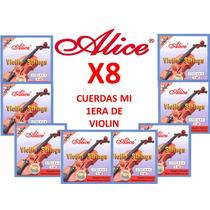 8 Cuerdas (mi) 1era Para Violin Alice A703 Nuevas
