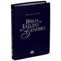 Biblia De Estudo Genebra Luxo