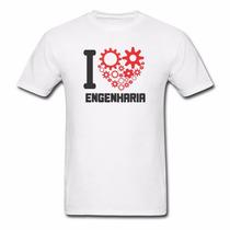 Camisa Engenharia Civil Camiseta Personalizada Profissões