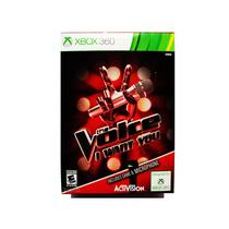 The Voice I Want You Nuevo + Microfono - Xbox 360