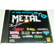 Cd Rock / Lo Mas Potente Del Metal Vol 2