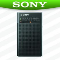 Radio Portatil Sony Am/fm P26 Analogico Con Bocina Pilas 2aa