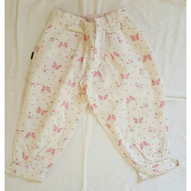 Bombacha Pantalon Floreada Nena Talle 3