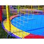 Rede De Cama Elástica Colorida 4,27m 100% Polipropileno