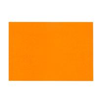 100 Folhas Papel Camurça - Folha 40x60cm Cor Laranja